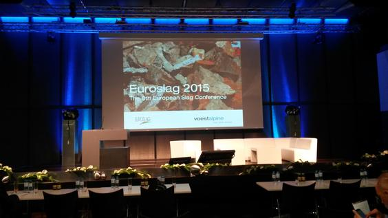 The 8th European Slag Conference. Linz, Austria.