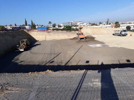 CONSTRUCCION CENTRO COMERCIAL ALDI TOMARES (SEVILLA)